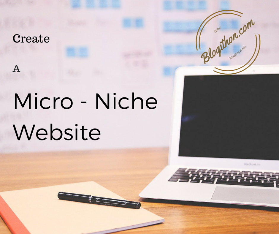How to createMicro - Niche blog