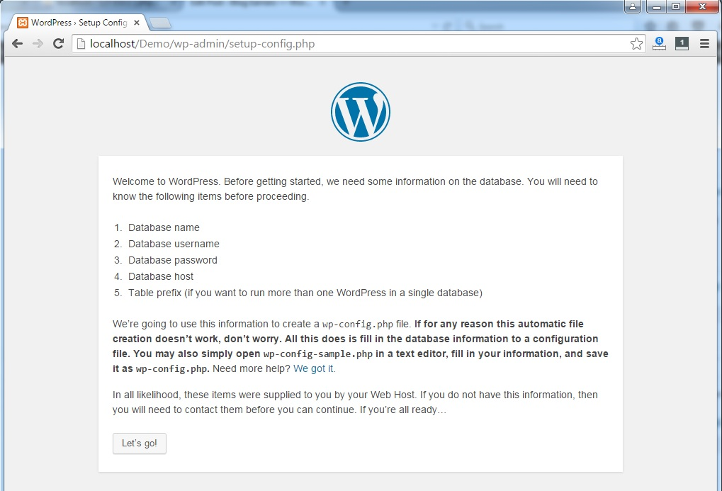 WordPress-Startup