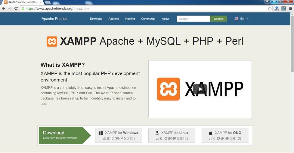 xampp-website