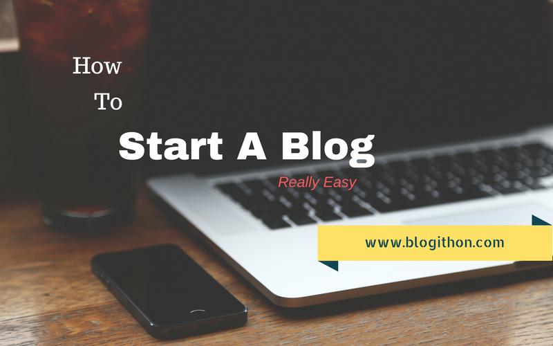 Start a blog in 2018